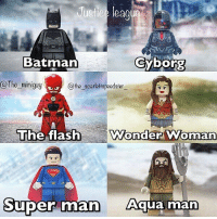 From @the_scarlettspeedster_ - Who is your favorite member of the justice league? Credit: @the_miniguy -- ☝️New post☝️ hope you guys enjoy this 👊👊👊 dc marvel theflash batman spiderman thescarletspeedster comic speedy captaincold savitar lego avengersinfinitywar arrow wonderwoman theflash justiceleague aquaman: ustice leag  Batman  Gyborg  @The_miniguy  @the scarlettspeedster  The flash  Wonder Woman  Super  Super man qjua man From @the_scarlettspeedster_ - Who is your favorite member of the justice league? Credit: @the_miniguy -- ☝️New post☝️ hope you guys enjoy this 👊👊👊 dc marvel theflash batman spiderman thescarletspeedster comic speedy captaincold savitar lego avengersinfinitywar arrow wonderwoman theflash justiceleague aquaman
