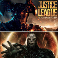 "What should the After Credit Scene be for JusticeLeague ? 🤔 Imagine a scene at the end of JL or in an AfterCreditScene… where SteppenWolf Returns to Apokolips to tell Darkseid that he failed to concur earth and retrieve the MotherBox's. And then Darkseid kills SteppenWolf and says something badass like ""My Turn."" 😨 It's either this or … GreenLantern showing up, you choose ! 🤷🏽‍♂️ DCExtendedUniverse 💥 DCEU SDCC ( Artist : @datrinti ) ComicCon SDCC2017: USTIE  LEAGLE  AFTER CREDIT SCENE?  IG @DC.MARVEL.UNITE What should the After Credit Scene be for JusticeLeague ? 🤔 Imagine a scene at the end of JL or in an AfterCreditScene… where SteppenWolf Returns to Apokolips to tell Darkseid that he failed to concur earth and retrieve the MotherBox's. And then Darkseid kills SteppenWolf and says something badass like ""My Turn."" 😨 It's either this or … GreenLantern showing up, you choose ! 🤷🏽‍♂️ DCExtendedUniverse 💥 DCEU SDCC ( Artist : @datrinti ) ComicCon SDCC2017"