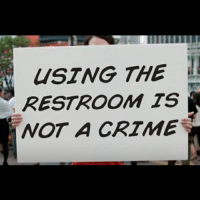 Crime, Definitely, and Lgbt: USTNG THE  RESTROOM TS  NOT A CRIME Bathroom debate's definitely far from the ending every civilized human has been expecting. This is due to assholes like the guys from Texas who are still pushing their retarded bill against transgender people aimed on their sense of security. Bigots seriously want to tell people where to pee and this really reminds me of nazi Germany where the government wanted to regulate everything in the very same oppressive way. Let people pee and let them be who they feel they actually are! LGBT LGBTUN rainbow_nation_us homophobia queerhumor GoT acceptance LoveIsLove LoveWins equality LGBTPride LGBTSupport Homosexual GayPride Lesbian Gay Pansexual Transgender GenderEquality GenderFluid Questioning Asexual Bisexual Androgyne Agender GenderQueer Intersex
