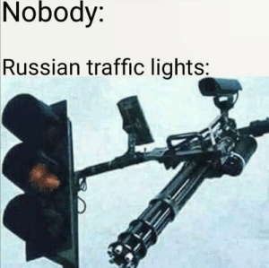 Usual traffic lights in Russia.: Usual traffic lights in Russia.