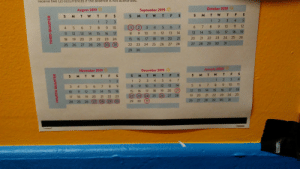 Walmart, Date, and Festivus: uthorized.  receive two (2) occurrences if the absence Iis hot  October 2019  September 2019  S MT W TFS  August 2019  F S  S MT W T  S M T W T F S  3  4 5  2  1  3  1  2  12  11  10  8  6 7  7  4 5 6 7 8 9  6  5  4  3  2  10  19  18.  17  16  14  15  13  14  13  12  11  10  17  8  15  16  12  13  14  11  26  25  23 24  22  21  20  21  20  19  18  16  17  15  22  24  19  20  21  23  18  31  29 30  28  27  27 28  25 26  (31  24  (30  23  22  28  29  25 26 27  29  30  January 2020  December 2019  November 2019  S M T W TF S  W T F S  T  S M T W TF S  4  3  2  1  5 6 7  4  2  3  1  2  1  11  10  7  6  13  14  12  11  10  9  7  6  4  3  18  17  16  13  15  14  21  12  20  19  18  17  16  15  16  15  14  12  13  11  10  25  23 24  22  21  19 20  25 (26)  28  27  (24  23  (22  20  22 23  21  19  18  17  31  30  29  28  26 27  31  30  (29) 30  29  (27)  (28  25  26  24  పా  as  FOURTH QUARTER  THIRD QUARTER Festivus is a key date at Walmart. Intriguing on my right to celebrate new holidays