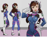 Overwatch, D.Va by SplashBrush: UUEK Overwatch, D.Va by SplashBrush