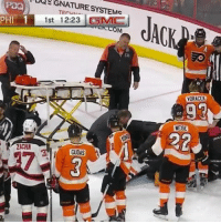 Our prayers go out to Michal Neuvirth after he collapsed on the ice. He was taken to hospital. We will update you on his status ASAP Neuvirth Flyers Praying NHLDiscussion Collapse: UUSGNATURESYSTEMC  1  1st 12:23 SMC  PHI  ZICHA  GUDAS  YORACEK  4.22 Our prayers go out to Michal Neuvirth after he collapsed on the ice. He was taken to hospital. We will update you on his status ASAP Neuvirth Flyers Praying NHLDiscussion Collapse