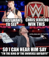 """Link in my bio...Just got back from recording the newest episode of stillrealradio where we discuss what raw can do to become the """"A"""" show again. chrisjericho y2j wwe wwememes raw share love prowrestling wrestling follow memes lol haha share like stillrealradio stillrealtous burn smackdownlive nxt faf wwf njpw luchaunderground tna roh: UUSTWANT CHRIS JERICHO  TO SEE  WIN THIS  CASTILLREAL2US ON TWITTER  SO I CAN HEAR HIM SAY  """"I'M THE KING OF THE UNIVERSE BAYBAY!!!"""" Link in my bio...Just got back from recording the newest episode of stillrealradio where we discuss what raw can do to become the """"A"""" show again. chrisjericho y2j wwe wwememes raw share love prowrestling wrestling follow memes lol haha share like stillrealradio stillrealtous burn smackdownlive nxt faf wwf njpw luchaunderground tna roh"""