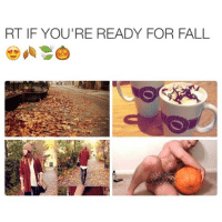 Fall Meme: RT IF YOU'RE READY FOR FALL
