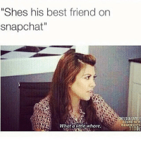 """best girl: """"Shes his best friend on  snapchat""""  What a little, whore.  CHELSEA LATELY  BRAND NEW  WEEKNIGHTS"""