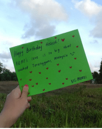 Bad, Beautiful, and Birthday: v  hapy birthday Hoseo  that  is so big Malaysia  Terengganu, reached my handwriting look bad whatever - So happy birthday to our sunshine Hoseok ! 💕 I hope he take care of himself and know that he is beautiful and talented ㅠㅠ i love hoseok so much im soft right now may god blessed that child ㅠㅠㅠㅠ TheWorldLovesYouHoseok