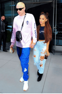 Ariana Grande, Target, and Http: V YORK  V ATE When Men Use Powerful Women to Get Attention: The Pete Davidson Story