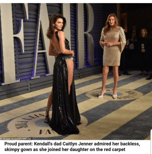 Read this. And then read it slowly. The Guardian shit posting???: - VA  OConnor Arroye AFF USA com  Proud parent: Kendall's dad Caitlyn Jenner admired her backless,  skimpy gown as she joined her daughter on the red carpet Read this. And then read it slowly. The Guardian shit posting???