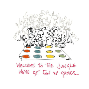 Jungle,  Welcome, and Welcome To: VA  WELCONE to THE JUNGLE Welcome to the Jungle [OC]