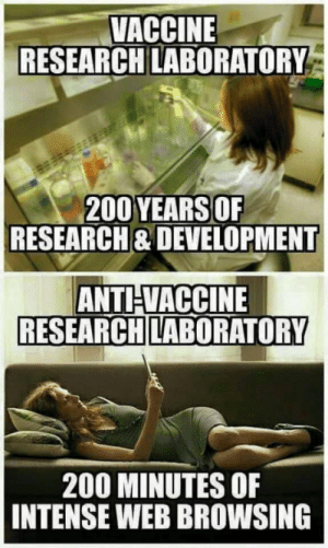 Bailey Jay, Dumb, and Science: VACCINE  RESEARCH LABORATORY  200 YEARSOF  RESEARCH& DEVELOPMENT  ANTHVACCINE  RESEARCH LABORATORY  200 MINUTES OF  INTENSE WEB BROWSING ☕️ for y'all anti science dumb asses