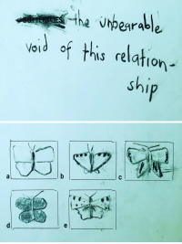 Tumblr, Blog, and Http: vaid of this relation  sh sterility:  butterflies the unbearable void of this relationship2017