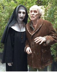 Memes, Bills, and 🤖: Valak and bill Wilkins from the Conjuring 2