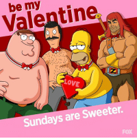 Dank, 🤖, and  Got You: Valentin  1 I  I II 1  LOVE  Sundays are Sweeter. In need of a Valentine? We've got you covered. 😉
