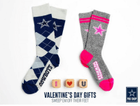 It's deep. It's passionate. It's undeniable.  Show your Dallas Cowboys love this Valentine's Day: http://bit.ly/2kJbryw: VALENTINE'S DAY GIFTS  SWEEP EM OFF THEIR FEET  PRO SHOP It's deep. It's passionate. It's undeniable.  Show your Dallas Cowboys love this Valentine's Day: http://bit.ly/2kJbryw