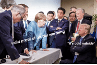"""Global Warming, Memes, and Cold: valid proof of global warming  """"it's cold outside"""" <p>Keep investing in G7 memes! via /r/MemeEconomy <a href=""""https://ift.tt/2JHdCir"""">https://ift.tt/2JHdCir</a></p>"""