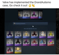 <p>I think I&rsquo;m feeling 🅱️utterflies in my stomach😰</p>: Valve has implemented the GrandAutismo  case, Go check it out!  idget Spinner  Qtat Trakt Fidget Spinnen  Rdget  Unlocking Container...  Items that might be in this case:  Fidgit Spirner  Band Dune  Fidget Spinner  dget fip oner  truviolet  Fidgut Spinner  than Mested  dget Spinner  Tooth  Fidgnt Spinner  Crimson Web  Fidget Splrnner  Fget Spinner  Hidget Spinner  Fivrer Creanm  Fidget Spinner  Case Hadered  Foget Spinner  Heper Bea  rn Roecial Item <p>I think I&rsquo;m feeling 🅱️utterflies in my stomach😰</p>