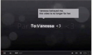 vanessa: Vanessa betrayed me  this video is no longer for her.  Par To Vanessa <3  007/451