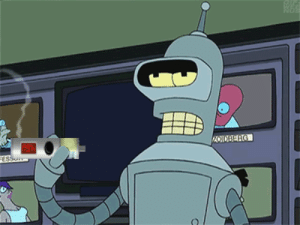 vapememes:In the future robots will smoke e-cigarettes with Petrol flavored e-juice! Oldie but goodie: vapememes:In the future robots will smoke e-cigarettes with Petrol flavored e-juice! Oldie but goodie