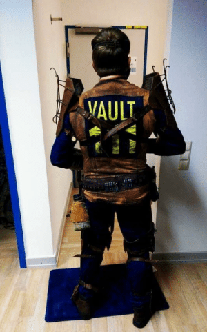 Fallout 4, Cosplay, and Fallout: VAULT Second Photo of my Fallout 4 Cosplay