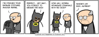 Batman, Dank, and Cyanide and Happiness: VE FINISHED YOUR  BATMAN COSTUME,  MASTER WAYNE.  PERFECT... HEY WAIT  YOu FORGOT TO  DESIGN THE DICK!  HOW AM I GONNA  INTIMIDATE CRIMINALSDICK, ALFRED!?  WITH NO DICKI?  WHERE'S MY  Cyanide and Happiness Explosm.net