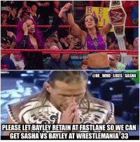 We can only hope 😭🙏. Congrats on bayley winning the women's title. I sadly think though that they'll do the typical Charlotte bullshit and have her take the title back at fastlane 😑. I'd like to see bayley win at fastlane and then have Sasha turn on her after the match. The reason being that bayley broke the ppv steak while she couldn't. But sadly it probably won't happen and they'll have a shitty 4 way with bayley Charlotte Nia and Sasha at mania that nobody wants to see. wwe wwememe wwememes sashabanks sashakrew legitboss boss bankonit bankstatement bayley imahugger charlotteflair shawnmichaels hbk womenswrestling dx wwewomenschampion wrestler wrestling nxt wwenxt prowrestling professionalwrestling wwenetwork wwesuperstars raw wweraw mondaynightraw smackdown fastlane: VE  @HE WHO LIKES SASHA  PLEASE LET BAYLEY RETAIN AT FASTLANESOWE CAN  GET SASHA VS BAYLEY ATWRESTLEMANIA 33 We can only hope 😭🙏. Congrats on bayley winning the women's title. I sadly think though that they'll do the typical Charlotte bullshit and have her take the title back at fastlane 😑. I'd like to see bayley win at fastlane and then have Sasha turn on her after the match. The reason being that bayley broke the ppv steak while she couldn't. But sadly it probably won't happen and they'll have a shitty 4 way with bayley Charlotte Nia and Sasha at mania that nobody wants to see. wwe wwememe wwememes sashabanks sashakrew legitboss boss bankonit bankstatement bayley imahugger charlotteflair shawnmichaels hbk womenswrestling dx wwewomenschampion wrestler wrestling nxt wwenxt prowrestling professionalwrestling wwenetwork wwesuperstars raw wweraw mondaynightraw smackdown fastlane