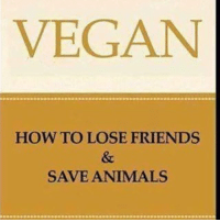 It's hard out there for a vegan 😐 I ❤️ animals forreal: VEGAN  HOW TO LOSE FRIENDS  SAVE ANIMALS It's hard out there for a vegan 😐 I ❤️ animals forreal