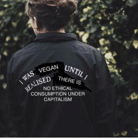 Memes, Capital, and Capitalism: VEGAN  UNTIL I  THERE IS  NO ETHICAL  CONSUMPTION UNDER  CAPITALISM