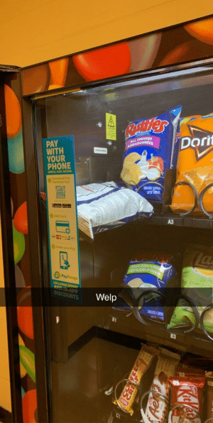 Vending machine was bolted to the ground so I couldn't even shake it out...: Vending machine was bolted to the ground so I couldn't even shake it out...
