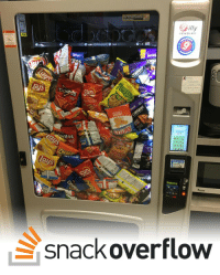 Did, Documentation, and Snack: VENDING  ritos  snack overflow Did OP even glance at the documentation?