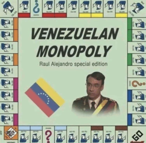 Go to Jail!: VENEZUELAN  MONOPOLY  Raul Alejandro special edition  90 10  ?  GO  JUST  GO 10  JAL Go to Jail!