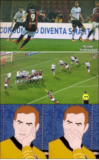 Goals, Memes, and fb.com: VERDI  LEWE  LLUMIA  CONJO DIVENTA SMART  Fb.com/  Trollfootball  TIM FIB Simone Verdi scored two free-kick goals today. One with his left foot and one with his right foot 😮 https://t.co/E96ENgnEiy