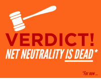 "Being Alone, Animals, and Ass: VERDICT!  NET NEUTRALITY IS DEAD  For now <p><a href=""http://wheremyscalesslither.tumblr.com/post/163054164138/nanotorb-deans-got-pie-kajuki460"" class=""tumblr_blog"">wheremyscalesslither</a>:</p><blockquote> <p><a href=""https://nanotorb.tumblr.com/post/163030930122/deans-got-pie-kajuki460"" class=""tumblr_blog"">nanotorb</a>:</p> <blockquote> <p><a href=""https://deans-got-pie.tumblr.com/post/163028457109/kajuki460-mr-tektites-sfm-blog-nsfw"" class=""tumblr_blog"">deans-got-pie</a>:</p> <blockquote> <p><a href=""https://kajuki460.tumblr.com/post/162979763773/mr-tektites-sfm-blog-nsfw-polararts"" class=""tumblr_blog"">kajuki460</a>:</p> <blockquote> <p><a href=""http://mr-tektites-sfm-blog-nsfw.tumblr.com/post/162977664113/polararts-drtanner-chakrabot"" class=""tumblr_blog"">mr-tektites-sfm-blog-nsfw</a>:</p> <blockquote> <p><a href=""http://polararts.tumblr.com/post/97158626219/drtanner-chakrabot-slitheringink"" class=""tumblr_blog"">polararts</a>:</p> <blockquote> <p><a href=""http://drtanner.tumblr.com/post/97085128050"" class=""tumblr_blog"">drtanner</a>:</p> <blockquote> <p><a href=""http://chakrabot.tumblr.com/post/76651798332/slitheringink-artofcarmen-fyeahwhovians"" class=""tumblr_blog"">chakrabot</a>:</p> <blockquote> <p><a href=""http://slitheringink.tumblr.com/post/76456673019/artofcarmen-sheepuppy-korriganbleedingink"" class=""tumblr_blog"">slitheringink</a>:</p> <blockquote> <p><a href=""http://artofcarmen.tumblr.com/post/76413006169/sheepuppy-korriganbleedingink"" class=""tumblr_blog"">artofcarmen</a>:</p> <blockquote> <p><a href=""http://fyeahwhovians.tumblr.com/post/73567489980/pumpkinskull-raygender-pumpkinskull"" class=""tumblr_blog"">fyeahwhovians</a>:</p> <blockquote> <p><a href=""http://irrayditation.co.vu/post/73567024346/pumpkinskull-themediafix-breaking-news-the"" class=""tumblr_blog"">raygender</a>:</p> <blockquote> <p><a href=""http://themediafix.tumblr.com/post/73318711676/breaking-news-the-d-c-appeals-court-just-killed"" class=""tumblr_blog"">themediafix</a>:</p> <blockquote> <p>Breaking news: The D.C. Appeals Court just killed Net Neutrality.<br/><br/>This could be the end of the Internet as we know it. But it doesn't have to be. <br/><br/>Tell the FCC to restore Net Neutrality: <a href=""http://bit.ly/1iOOjoe"">http://bit.ly/1iOOjoe</a></p> </blockquote> <p>they want to make the internet like tv. with channels and paying to get to specific websites and things. net neutrality = not doing that</p> </blockquote> <p>This impacts every internet user. Please signal boost the hell out of this and sign the petition if you are American</p> </blockquote> <p>I do not reblog things like this very often, but this affects me both personally and my business as a freelance artist.</p> <p>In the economy here; cash is already strapped as it is. You bet your ass companies would suck the ever living life out of misc. art sites.</p> <p>I don't want it to ever come down to me choosing between groceries or purchasing a new tier package via comcast to be able to access tumblr or DeviantArt (let alone not guaranteeing I'll even be seen by my customer base since they may not want to pay out their asses either). It doesn't seem important to most, but I do 90% of my business online entirely.</p> <p>Please sign up, fight for this and share it with your followers/friends/family and urge them to give them hell as well.</p> </blockquote> <p>Not writing related, but this is incredibly important. While we pay for service via ISPs, the internet has been a relatively free space where everyone, no matter their income level, is able to connect, access a wealth of information, and express themselves. The Internet has become a major part of our culture as human beings and the notion that ISPs might be able to <b>limit what sites I can access unless I pay them more</b> is utterly sickening. A lot of us are cash strapped as is, and I'd rather not be limited even more by someone else's greed. Net Neutrality is essential and I hope you guys will understand why it needs to remain.</p> <p>-Morgan</p> <p>P.S. Signal boost this if you're able.</p> </blockquote> <p>"" <b>limit what sites I can access unless I pay them more""</b></p> <p> <b>limit what sites I can access unless I pay them more</b></p> <p> <b>limit what sites I can access unless I pay them more</b></p> <p> <b>limit what sites I can access unless I pay them more</b></p> <p> <b>limit what sites I can access unless I pay them more</b></p> <p><b>DO YOU WANT THIS? NO?? CLICK THE LINK. REBLOG.</b></p> </blockquote> <p>As I understand this ruling, it means that businesses now have to pay extra to ISPs to have access to their websites through that ISP provided at a reasonable speed. If you don't pay, users' access to your website will be slowed to a crawl - so independent people and small businesses can forget about getting onto that high speed access tier. </p> <p>This means that the American internet is going to be firmly under the control of those who have the most money. You'll only get to see the content of those who can pay the ISPs to provide access at a reasonable speed. This means that you can expect to see skewed representation of just about everything, with those bigger businesses who can afford to pay ISPs a premium for access deciding what you can and cannot read, view and consume on the internet.</p> <p>This is not something that we have in the UK. Our ISPs compete with each other to provide higher speeds, better services and lower prices, but because there's a monopoly in the US of a few ISPs who provide services, they can afford to do this to you. You can't go anywhere else, after all.</p> <p>Everyone in the US needs to sign that petition, call their representatives, write angry letters and do whatever you can to tell your government that this ruling is Not Okay.</p> </blockquote> <p>Maybe you guys are sick of this post but It's really important to freelance artists and pretty much everyone who uses the internet, so here it is again.  \o0o/</p> </blockquote> <p>trump era is gonna be hell</p> </blockquote> <p>i dont want to pay for my memes.</p> </blockquote>  <a class=""tumblelog"" href=""https://tmblr.co/mGxC5ZztcfIaHwc3csAM85g"">@wheremyscalesslither</a> <a class=""tumblelog"" href=""https://tmblr.co/mIJ8_wrCXsufezeOd9hyGWQ"">@huskyhuddle</a> <a class=""tumblelog"" href=""https://tmblr.co/mRj4qnViTBEI6mJO96LL6FA"">@toothless-the-betta-fish</a> <a class=""tumblelog"" href=""https://tmblr.co/mXXRksbHsyCtmHF0Hyw5cmw"">@comraderabbit</a> <a class=""tumblelog"" href=""https://tmblr.co/mTZU-Tn0PH1zkSiVUjtBCRQ"">@elemental-kiss</a> Guys Im pretty sure you guys have a lot of followers please boost this!</blockquote> <p>so who fucking profits from net neutrality being gone or is it just old people not understanding the internet</p> </blockquote>  <p>things are weird when one of toyr favorite artists reblogs a comment chain with your username attached. also tumblr never even told me about the tag</p> <p><br/>anyhow this is really fucking important. the USA us already wntirely run in corproate greed. I cant imagine what it would be like to have to pay for all of this wonderful knowledge and access to communication across the world. <br/>Think about this- youre interested in purchasing a new species of snake so you want to start researching- contacting breeders, keepers, and looking up care sheets but you cant because you dont pay for the right package OR worse, the company cant afford to pay and you lose out on an incredible chance to learn and improve animals' lives.</p> <p>In this day and age access to educational resources, even those on social media sites is a RIGHT not a privilege.</p> <p>There is NO REASON anyone should be able to gain more money off of the internet for no fucking reason.</p> </blockquote>"