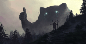 verineart:  lawfulgoodness: a-wandering-minstrel:   yo bro is it safe down there in the woods? yeah man it's coolby   Tomislav Jagnjic    I thought this was just a joke but nope, that's literally what the artist named this piece. Some other gems by Tomislac Jagnjic:   And I worried myself sick over naming my art. This is so liberating.: verineart:  lawfulgoodness: a-wandering-minstrel:   yo bro is it safe down there in the woods? yeah man it's coolby   Tomislav Jagnjic    I thought this was just a joke but nope, that's literally what the artist named this piece. Some other gems by Tomislac Jagnjic:   And I worried myself sick over naming my art. This is so liberating.