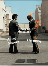 Germany, Powers, and Signs: Versailles  Allied  powers  Germanv Germany signs the Treaty of Versailles (June 28, 1919)