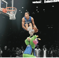 Dunk, Memes, and Aaron Gordon: vert on Islamaun  TRIAnnr  A2さ。 Aaron Gordon has reportedly been confirmed for the 2017 NBA Sprite Slam Dunk Contest.