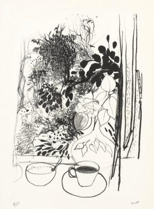 vervediary: Brett Whiteley, View of the Garden, 1977.: vervediary: Brett Whiteley, View of the Garden, 1977.