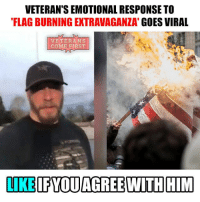 "Eric Post initially planned to confront the protesters, but instead went live on Facebook Live from the Willamette National Cemetery to reflect. In tears, Post explains what the flag means to him and how it's more than a ""piece of fabric. Watch full video here: https:-www.facebook.com-ericsposts-videos-10212149638035372- The veteran more than ingeniously answered to all the provocateurs, and perhaps forced mindless liberals who set the American flags on fire to think. I'm sure that only prison sentences are not enough to make liberal youth to stop their offensive actions. Therefore, Eric Post emotionally and pathetically on behalf of all veterans of America tried to explain what the American banner means to him. We applaud and commend you Mr. Post. God bless you. veteranscomefirst veterans_us Veterans Usveterans veteransUSA SupportVeterans Politics USA America Patriots Gratitude HonorVets thankvets supportourtroops semperfi USMC USCG USAF Navy Army military godblessourmilitary soldier holdthegovernmentaccountable RememberEveryoneDeployed Usflag StarsandStripes: VETERAN SEMOTIONAL RESPONSE TO  FLAG BURNING EXTRAVAGANZA""  GOES VIRAL  VETERANS  COME FIRST  LIKE FYOUAGREEWTH HIM Eric Post initially planned to confront the protesters, but instead went live on Facebook Live from the Willamette National Cemetery to reflect. In tears, Post explains what the flag means to him and how it's more than a ""piece of fabric. Watch full video here: https:-www.facebook.com-ericsposts-videos-10212149638035372- The veteran more than ingeniously answered to all the provocateurs, and perhaps forced mindless liberals who set the American flags on fire to think. I'm sure that only prison sentences are not enough to make liberal youth to stop their offensive actions. Therefore, Eric Post emotionally and pathetically on behalf of all veterans of America tried to explain what the American banner means to him. We applaud and commend you Mr. Post. God bless you. veteranscomefirst veterans_us Veterans Usveterans veteransUSA SupportVeterans Politics USA America Patriots Gratitude HonorVets thankvets supportourtroops semperfi USMC USCG USAF Navy Army military godblessourmilitary soldier holdthegovernmentaccountable RememberEveryoneDeployed Usflag StarsandStripes"