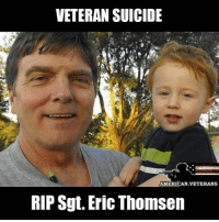 Eric was a typical courageous American hero. He was 100% prepared to give his life for his country on a faraway battlefield. What he never expected was to lose his life here at home, because of the indifference of his own government. americanveterans veterans usveterans usmilitary usarmy supportveterans honorvets usvets america usa patriot uspatriot americanpatriot supportourtroops godblessourtroops ustroops americantroops semperfi military remembereveryonedeployed deplorables deployed starsandstripes americanflag usflag respecttheflag marines navy airforce: VETERAN SUICIDE  AMERICAN VETERANS  RIP Sgt. Eric Thomsen Eric was a typical courageous American hero. He was 100% prepared to give his life for his country on a faraway battlefield. What he never expected was to lose his life here at home, because of the indifference of his own government. americanveterans veterans usveterans usmilitary usarmy supportveterans honorvets usvets america usa patriot uspatriot americanpatriot supportourtroops godblessourtroops ustroops americantroops semperfi military remembereveryonedeployed deplorables deployed starsandstripes americanflag usflag respecttheflag marines navy airforce