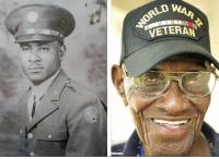 VETERAN This is RICHARD OVERTON. He is 109 years old and the oldest living WWII Veteran in the United States.     CAN HE GET A LIKE AND A SHARE, FOR HIS SERVICE & SACRIFICE ?