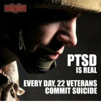 Although post-traumatic stress disorder is a serious, and often overwhelming, disorder, effective treatment is available. If you or someone you love is suffering from PTSD, seek immediate treatment, and start paving the way for a better, brighter future. veteranscomefirst veterans_us Veterans Usveterans veteransUSA SupportVeterans Politics USA America Patriots Gratitude HonorVets thankvets supportourtroops semperfi USMC USCG USAF Navy Army military godblessourmilitary soldier holdthegovernmentaccountable RememberEveryoneDeployed Usflag StarsandStripes: VETERANS  COM  FIRST  PTSD  IS REAL  EVERYDA, 22 VETERANS  COMMIT SUICIDE Although post-traumatic stress disorder is a serious, and often overwhelming, disorder, effective treatment is available. If you or someone you love is suffering from PTSD, seek immediate treatment, and start paving the way for a better, brighter future. veteranscomefirst veterans_us Veterans Usveterans veteransUSA SupportVeterans Politics USA America Patriots Gratitude HonorVets thankvets supportourtroops semperfi USMC USCG USAF Navy Army military godblessourmilitary soldier holdthegovernmentaccountable RememberEveryoneDeployed Usflag StarsandStripes
