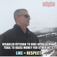 """America, Anaconda, and Children: VETERANS  COME ARST  DISABLED VETERAN TO HIKEAPPALACHIAN  TRAIL TO RAISE MONEY FOR OTHERIVETS  LIKE RESPECT Retired Sergeant Major Paul Gaumond enjoys hiking about five to six miles every other day near his home in Asheville, North Carolina. While looking at other trails, Gaumond and his wife came across the Appalachian Trail and decided he was up for the challenge to walk more than 2,100 miles. But he wanted the experience to mean more than just completing the hike. """"I thought this would be a neat idea to give back and raise money"""" to help veterans' families, the 58-year-old said Friday. Gaumond, who retired from the Green Berets in 1998 after 21 years, is raising money for the Special Operations Warrior Foundation that helps finance college educations for the children of fallen special operations forces. He will be joined by his daughter on the trail. Very cool, Sergeant Major Paul Gaumond. Thank you for your Service and for all the Freedoms we enjoy today. We Salute You. Donate here: https:-www.gofundme.com-paul-gaumond veteranscomefirst veterans_us Veterans Usveterans veteransUSA SupportVeterans Politics USA America Patriots Gratitude HonorVets thankvets supportourtroops semperfi USMC USCG USAF Navy Army military godblessourmilitary soldier holdthegovernmentaccountable RememberEveryoneDeployed Usflag StarsandStripes"""