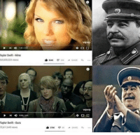 Birth of communism (circa 1848): vevo  I142/355  Taylor Swift Mine  65,850.024 views  vevo  Taylor Swift-Ours  0,611,645 views Birth of communism (circa 1848)