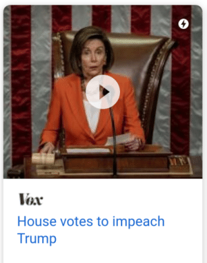 MadHouse: Vex  House votes to impeach  Trump MadHouse