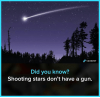 8shit 8fact fact facts didyouknow dyk meme memes: VIA 8SHIT  Did you know?  Shooting stars don't have a gun. 8shit 8fact fact facts didyouknow dyk meme memes