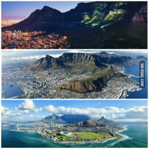 9gag, Africa, and South Africa: VIA 9GAG.COM Believe it or not but this city (Cape Town) is in South Africa.