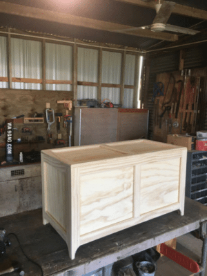 Built a toy box for my sons today. What do you guys think?: VIA 9GAG.COM Built a toy box for my sons today. What do you guys think?