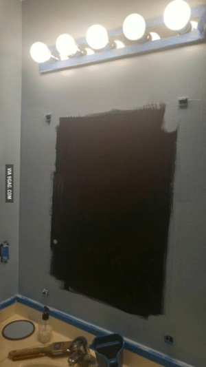 9gag, House, and Mirror: VIA 9GAG.COM Come on, 9gag! I need the creepiest message to behind the mirror in my rental houses bathroom.