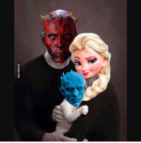 familyovereverything maul starwars gameofthrones disney frozen mashups: VIA 9GAG.COM familyovereverything maul starwars gameofthrones disney frozen mashups