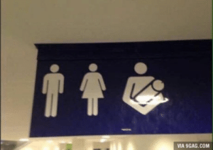 9gag, Com, and Via: VIA 9GAG.COM Finally, a bathroom for me and my magnum dong.